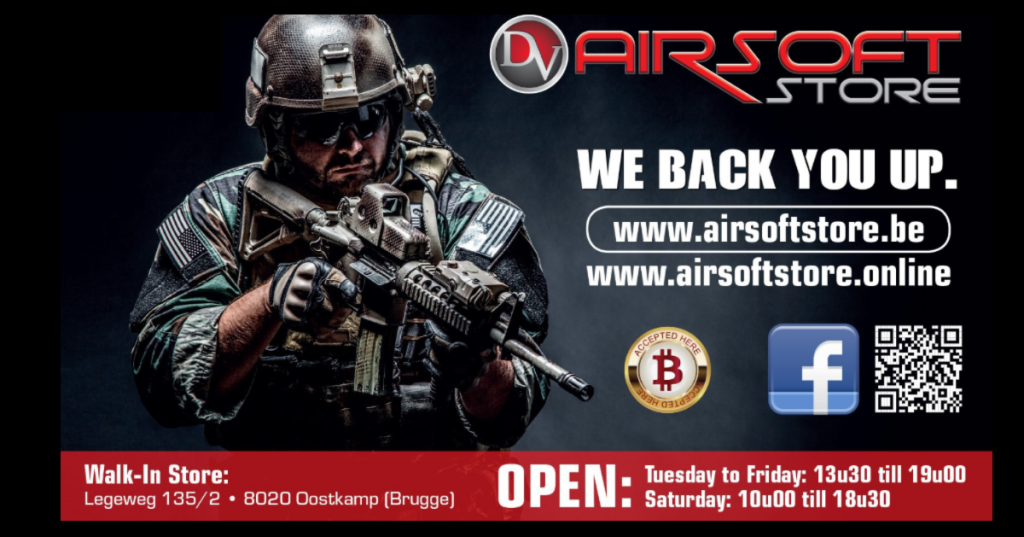 Airsoft store Oostkamp